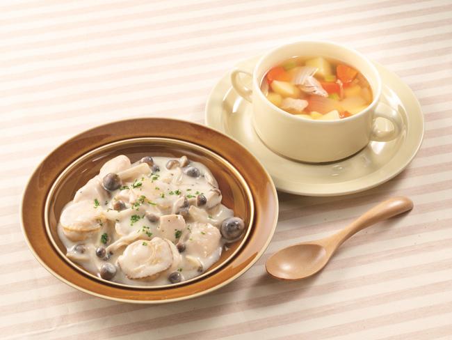 ニチレイカロリーナビ 帆立と鶏のクリーム煮セット
